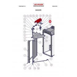Soporte cilindro aire comprimido