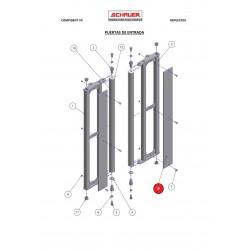 Panel fenólico puerta de entrada