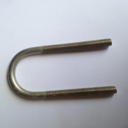 Abrazadera inox M8 36/95 Gew 65 mm A2.